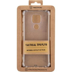 Tactical TPU Plyo kryt Motorola G9 Play/E7 Plus čirý