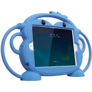 Cartoon Monkey ochranné pouzdro Apple iPad Mini 1/2/3/4 /mini 2019 světle modré