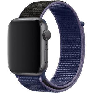 Apple Watch provlékací sportovní řemínek 40/38mm půlnočně modrý