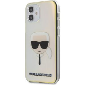"Karl Lagerfeld PC/TPU Head kryt iPhone 12 mini 5.4"" duhové"
