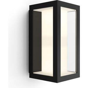 Philips Hue White and Color Ambiance Impress venkovní nástěnné svítidlo černé