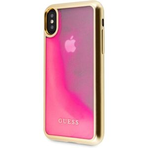 Guess Glow in The Dark PC/TPU GUHCPXGLTRPI pouzdro iPhone X/XS zlaté