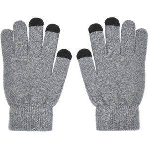 Smarty dámské dotykové rukavice TRIANGLE šedé