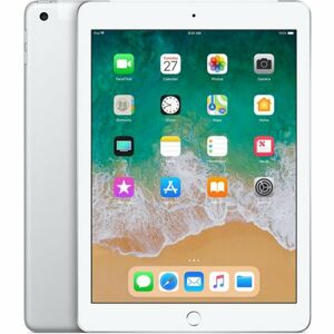 Apple iPad 32GB Wi-Fi + Cellular stříbrný (2018)
