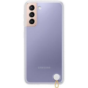Samsung Clear Protective Cover kryt Galaxy S21 5G (EF-RG991CJE) bílý