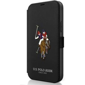 U.S.Polo Embroidery Book pouzdro iPhone 12 mini černé