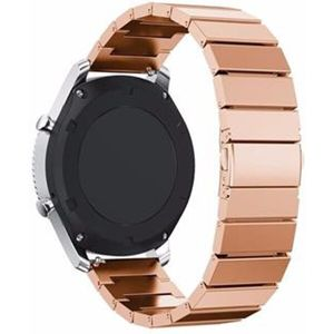 Tactical článkový kovový řemínek Apple Watch 1/2/3 38mm růžovozlatý