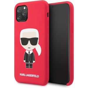 Karl Lagerfeld Iconic Body kryt iPhone 11 červený
