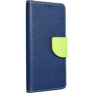 Smarty flip pouzdro Xiaomi Redmi Note 9T 5G modré/limetkové