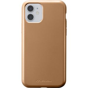 CellularLine SENSATION Metallic silikonový kryt Apple iPhone 11 zlatý