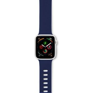 EPICO Silicone řemínek Apple Watch 42/44mm modrý