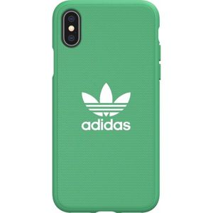 ADIDAS Originals Moulded Canvas pouzdro iPhone XS Max zelené